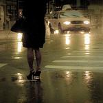 crosswalk pedestrian